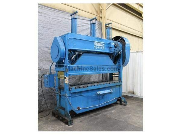 80 TON ROUSELLE MODEL SS-30-100 PRESS: STOCK 59374