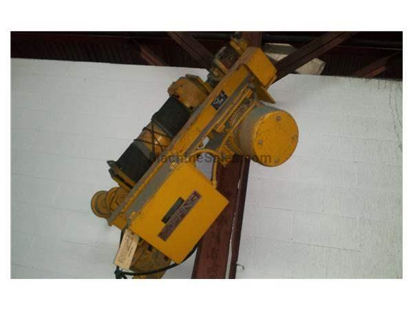 2 TON COFFING CABLE HOIST: STOCK #59435