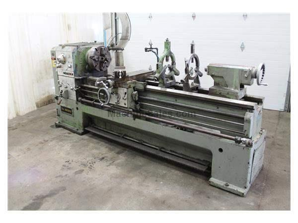 "24"" / 32"" X 84"" T A SHING GAP LATHE WITH 3"" HOLE: STOCK #59534"