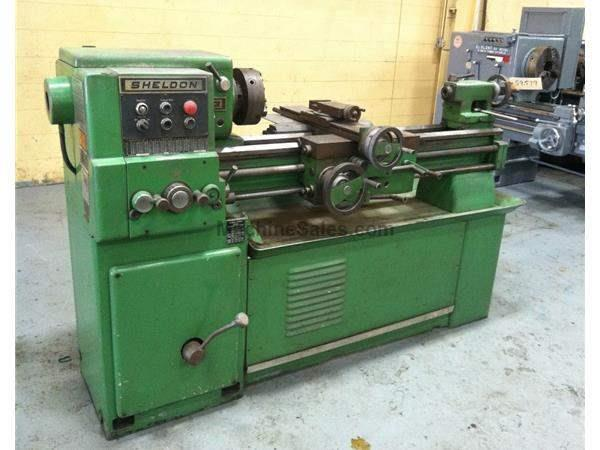 "13"" X 42"" SHELDON TOOLROOM LATHE: LOT #59579"
