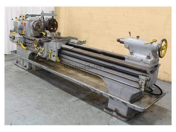 "21"" x 102"" BERTRAM ENGINE LATHE: STOCK #59580"