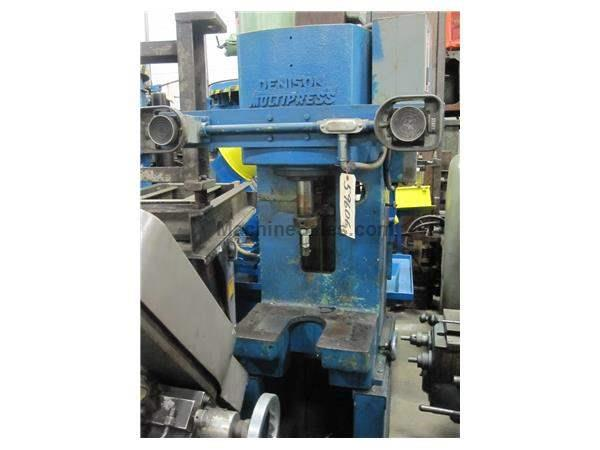 6 TON DENISON C-FRAME HYDRAULIC PRESS: STOCK # 59606