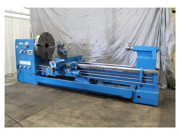 "40"" X 120"" EDELSTAAL GAP BED ENGINE LATHE: STOCK #59735"