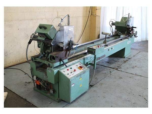 12' WEGOMA MODEL SD24 DOUBLE MITERING COLD SAW: STOCK #59757