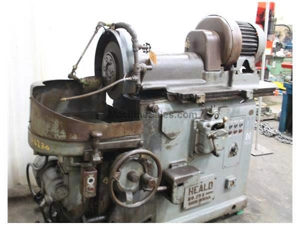 "16"" HEALD MODEL #25A HORIZONTAL ROTARY SURFACE GRINDER: STOCK #59769"