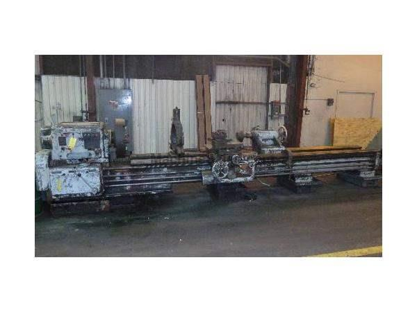 "27"" X 168"" POREBA GAP BED ENGINE LATHE: STOCK #59823"