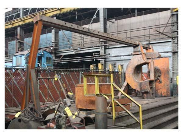 600 TON RODGERS HYDRAULIC INCLINED WHEEL PRESS: STOCK #59834