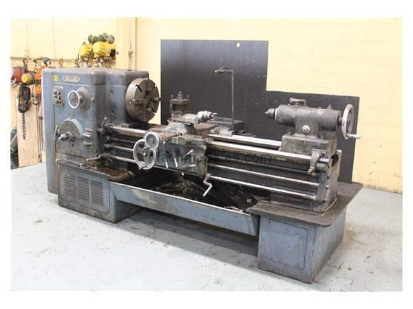 "22"" X 60"" SIDNEY HEAVY DUTY ENGINE LATHE: STOCK #59856"
