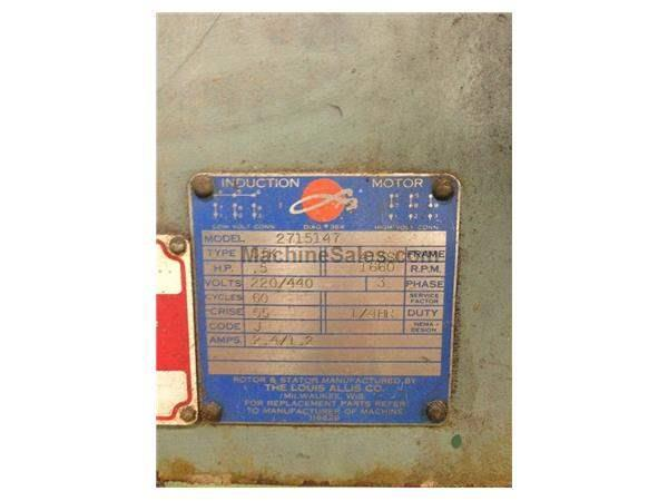 "24"" PRATT & WHITNEY PRECISION TILTING POWER ROTARY TABLE: STOCK #59866"