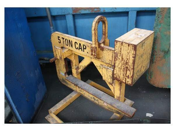 "5 TON X 42"" CALDWELL COIL LIFTING C HOOK: STOCK #59927"