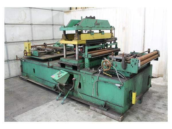 "57"" ASC 4 POST CUTOFF PRESS WITH 30"" STRAIGHT DIE: STOCK #59952"