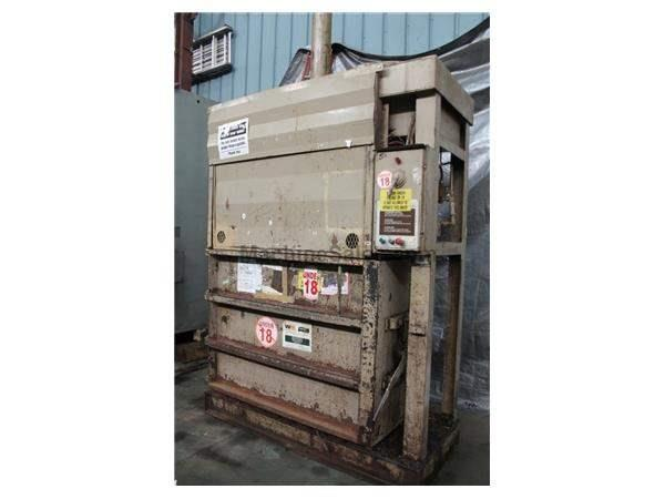 "60"" X 30"" GENERAL VERTICAL HYDRAULIC BALER: STOCK #61288"