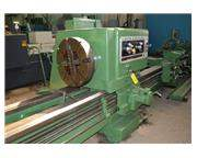"32.5"" X 22'/10' LODGE & SHIPLEY HOLLOW SPINDLE DUAL BED ENGINE LATHE: STOCK #61319"