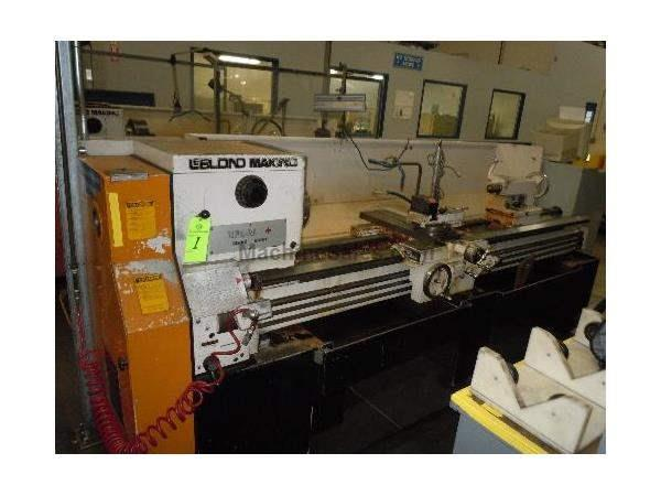 "19"" X 80"" LEBLOND MAKINO ENGINE LATHE: STOCK #61350"