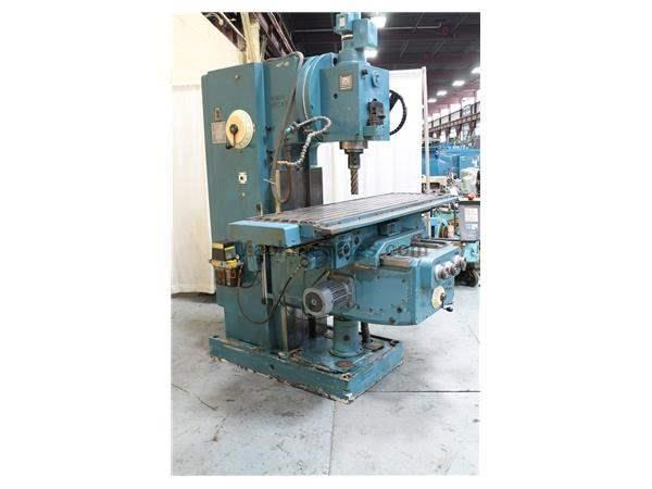 HECKERT FSS 400/S VERTICAL MILL: STOCK #61355