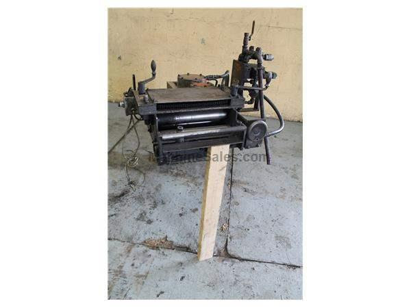 "12"" X 12"" FEED LEASE STRAIGHTENER AND AIR FEEDER: STOCK #61361"