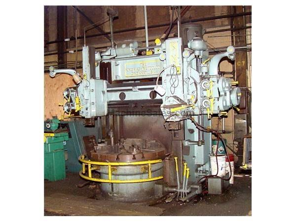"52"" KING VERTICAL BORING MILL: STOCK #61364"