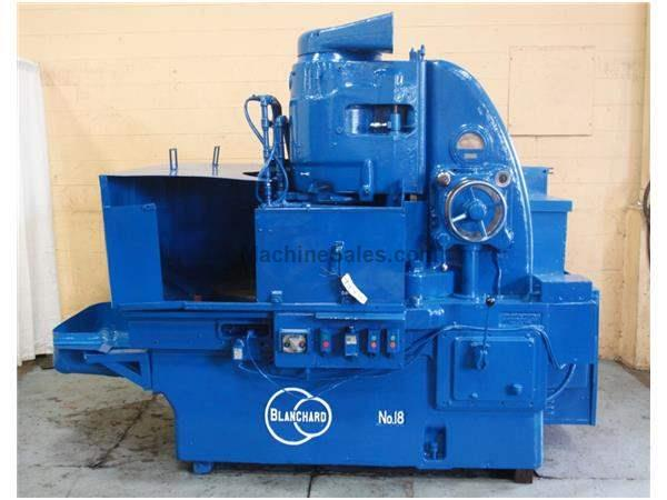 "36"" BLANCHARD ROTARY SURFACE GRINDER: STOCK #61438"