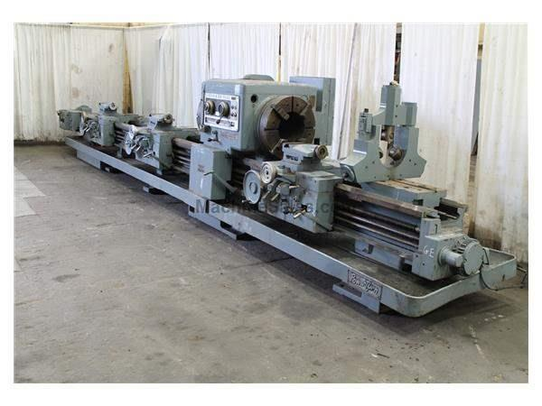 "28"" X 96"" & 240"" LODGE & SHIPLEY HOLLOW SPINDLE ENGINE LATHE: #61474"