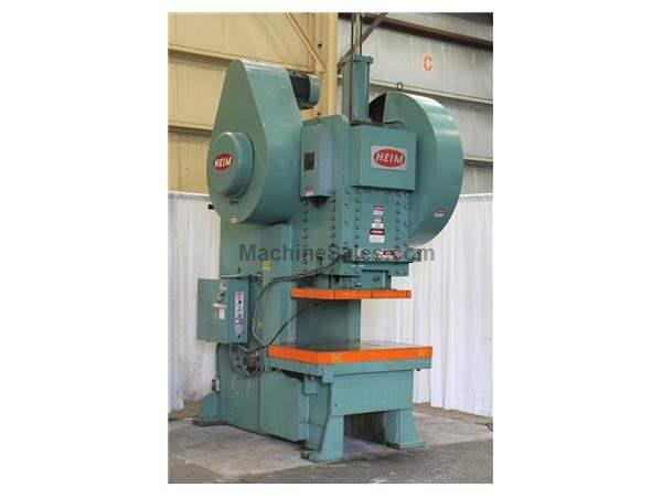 160 TON HEIM OBI BACKGEARED PRESS: STOCK #61531