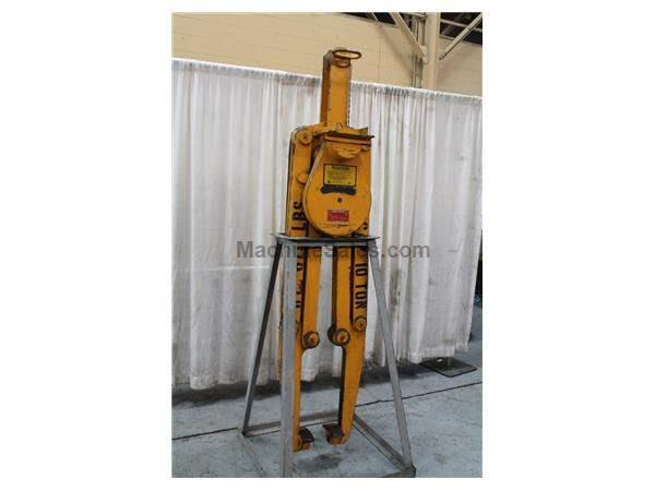 10 TON C F MOTORIZED MATERIAL LIFT: STOCK #61534