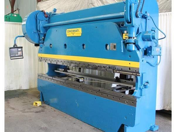 135 TON X 10' CINCINNATI MODEL #5 PRESS BRAKE: STOCK #61537