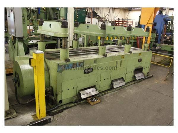 150 TON TISHKEN (CUT-A-MATIC) 8-POST 4 RAM CUTOFF PRESS: STOCK #61597