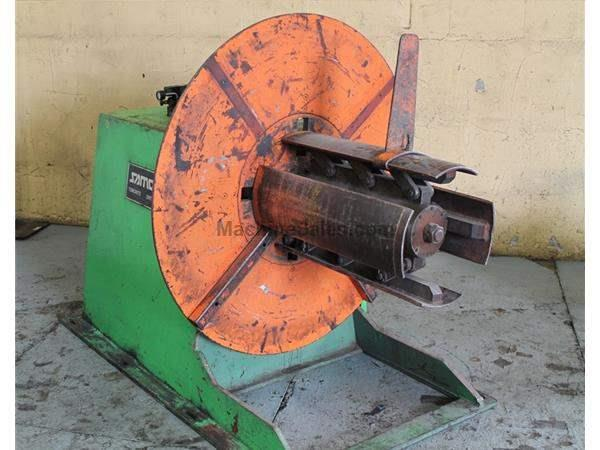 "6000 LB X 30"" SAMCO NON POWERED COIL REEL : STOCK 61654"