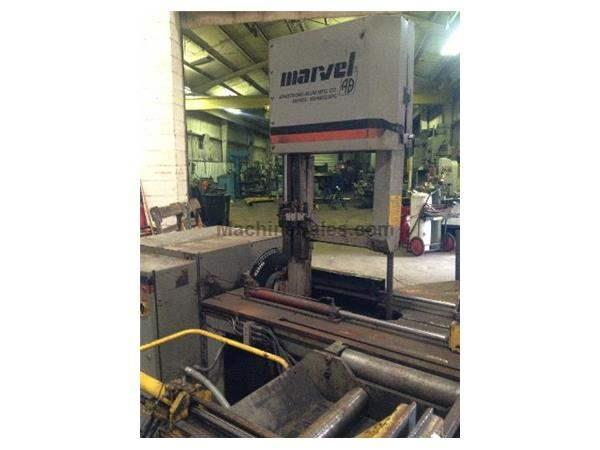 "18"" X 20""MARVEL MODEL MV460PC/1 AUTOMATIC FEED VERTICAL BANDSAW: #61692"