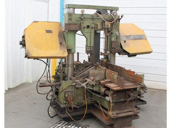 "20"" X 30"" BEHRINGER HORIZONTAL BAND SAW: STOCK # 61708"