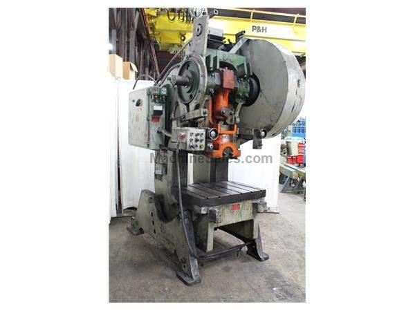 80 TON MODEL 80 L & J OBI PRESS: STOCK #61724