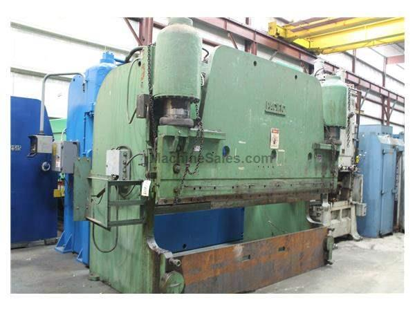 400' X 12' TON PACIFIC HYDRAULIC PRESS BRAKE: STOCK #61809