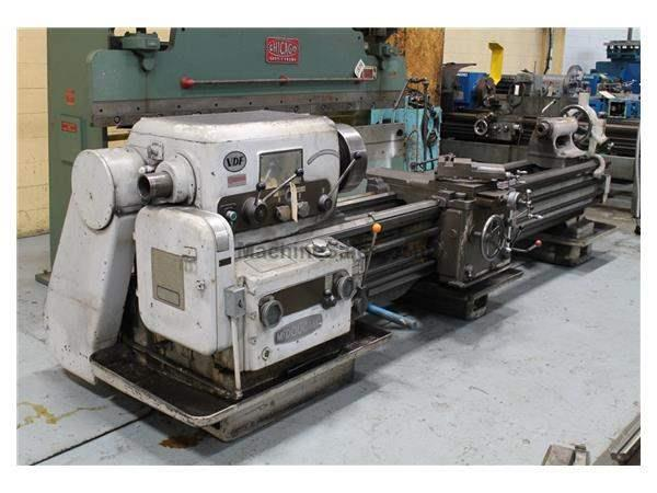 "23"" X  96"" VDF GAP BED ENGINE LATHE:STOCK #61883"