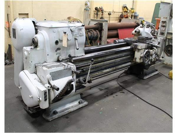 "22"" X 72"" SPRINGFIELD ENGINE LATHE: STOCK #61884"