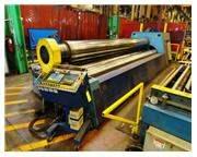 """18' X 7/8"""" HELLER 4 ROLL CNC PLATE BENDING ROLL NEW 2003: STOCK # 61938"""