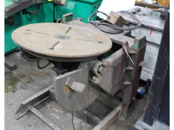 1000 LB RANSOME WELDING POSITIONER: STOCK #61962