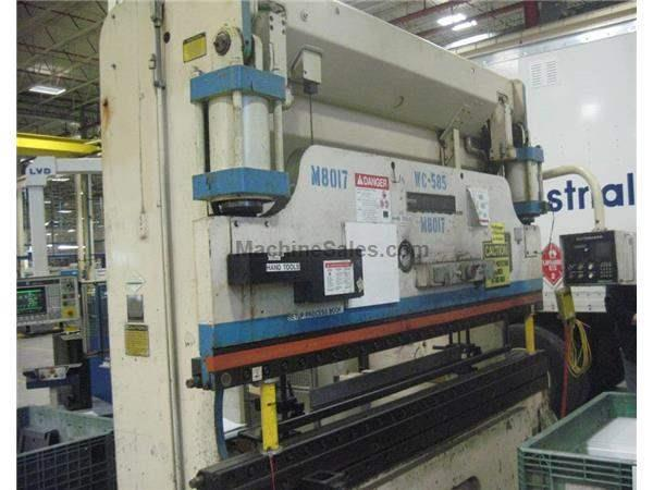 "90 TON X 10' CINCINNATI ""MODEL AS"" HYDRAULIC PRESS BRAKE: STOCK #62016"