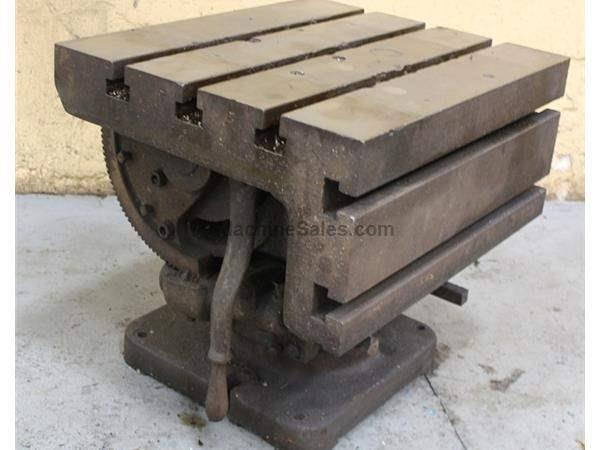 "24-1/2"" X 20"" X 20"" UNIVERSAL DRILL TABLE:  STOCK #62026"