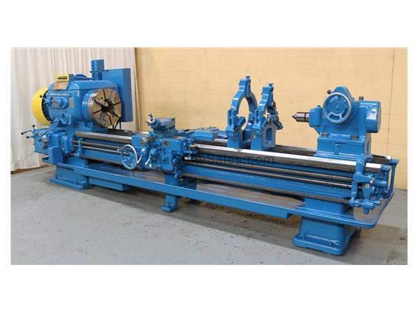 "28"" X 120"" LODGE & SHIPLEY 8-7/8"" HOLLOW SPINDLE ENGINE LATHE: #62049"