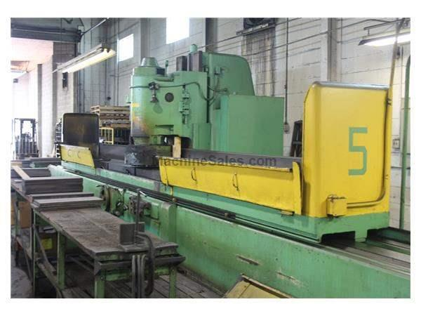 "18"" X 18"" X 192"" THOMPSON VERTICAL SURFACE GRINDER:  STOCK #62165"