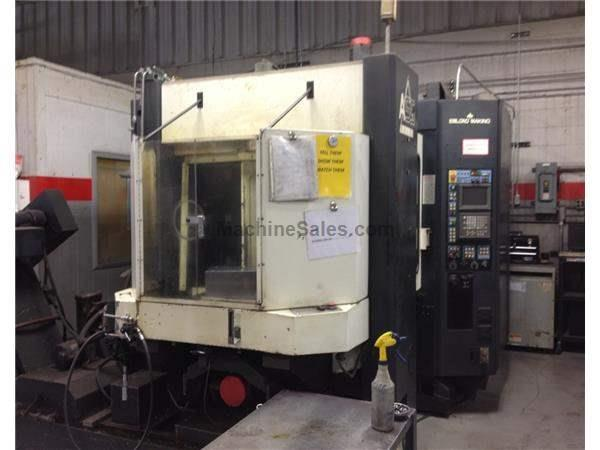 MAKINO #A55 DELTA CNC HORIZONTAL MACHINING CENTER: STOCK #62708