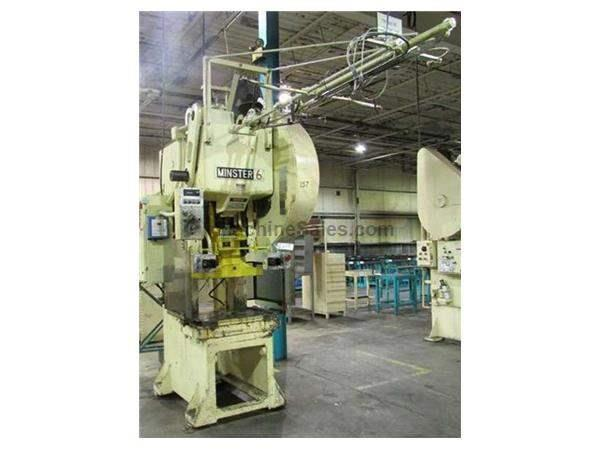 60 TON MINSTER MODEL #6SS-FB OBI PRESS: STOCK #62719