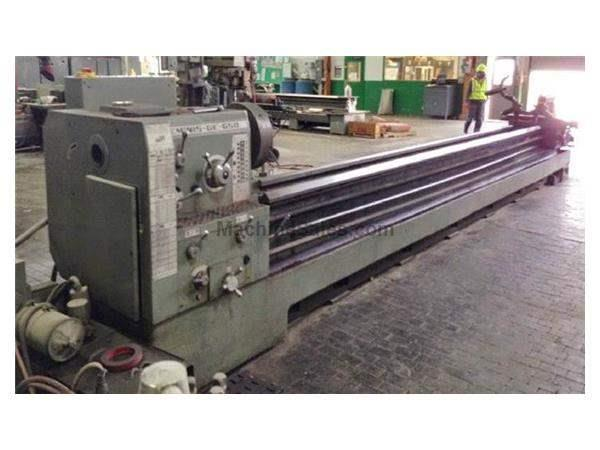 "27""(36""GAP) X 240"" GEMINIS GAP BED ENGINE LATHE: STOCK #62776"