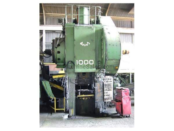 1000 TON TMP VORONEZH HOT FORGING PRESS LINE: STOCK #62874