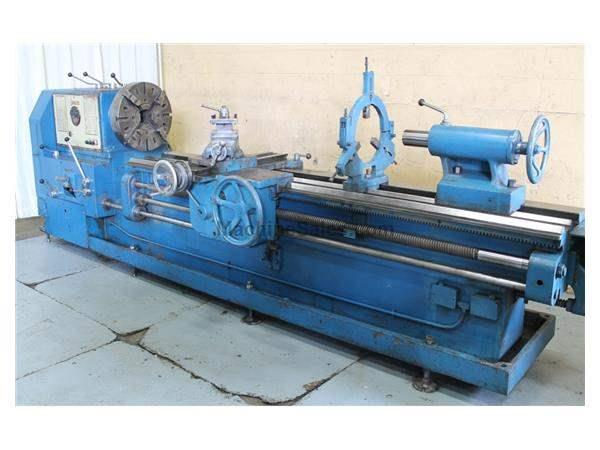 "22/52"" X 96/154"" STANLEY SLIDING BED ENGINE LATHE: STOCK # 62969"