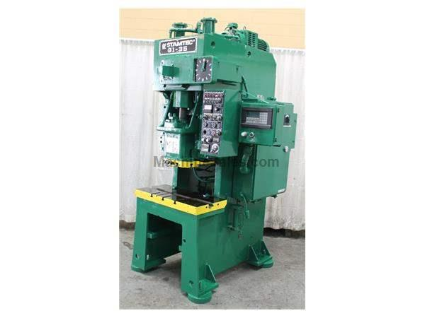35 TON STAMTEC MODEL #GI-35-SI GAP PRESS: STOCK #62975