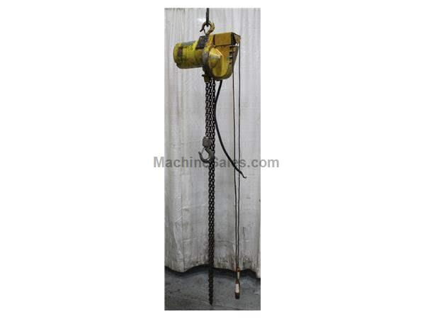 1/2 TON YALE POWERED CHAIN HOIST: STOCK #63073