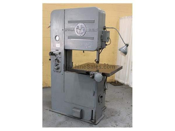 "26"" DOALL MODEL #V-26 VERTICAL BAND SAW: STOCK #63110"