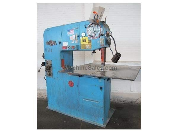 "36"" DOALL VERTICAL BAND SAW: STOCK #63186"