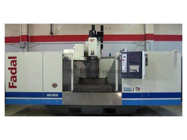 "80""X, 30""Y, 30""Z, FADAL 8030, 22.5 HP, Rigid Tapping, High Torque Spindle W"